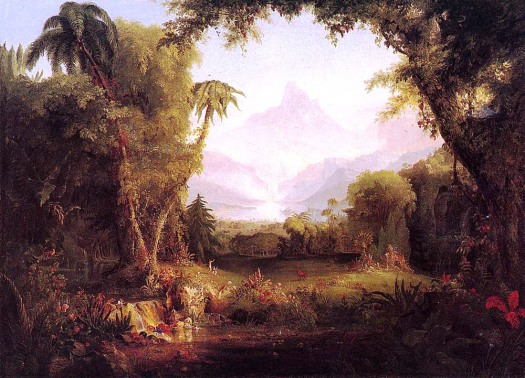 The Garden of Eden (1828 painting by Thomas Cole)