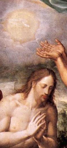 The Baptism of Christ by Juan Navarrete, 1567