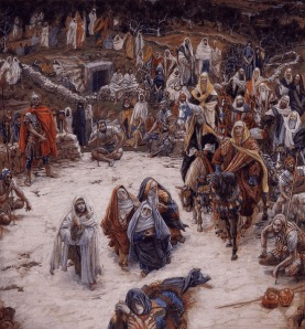 The Crucifixion, seen from the Cross, by James Tissot, 19th century