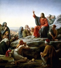 """The Sermon on the Mount"" by Carl Bloch, 1890"