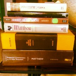 Commentaries on Matthew