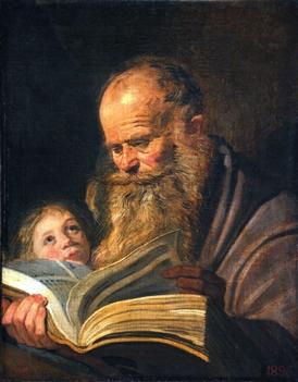 Matthew by Frans Hals