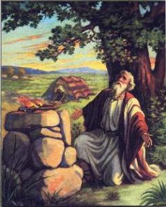 abraham altar