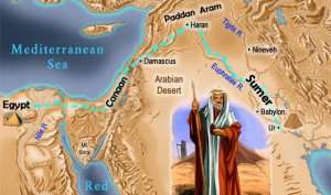 Abraham's Journey: From Babylon to Canaan to Egypt, then back to Canaan
