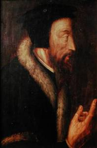 Sixteenth-century portrait of John Calvin by an unknown artist. From the collection of the Library of Geneva