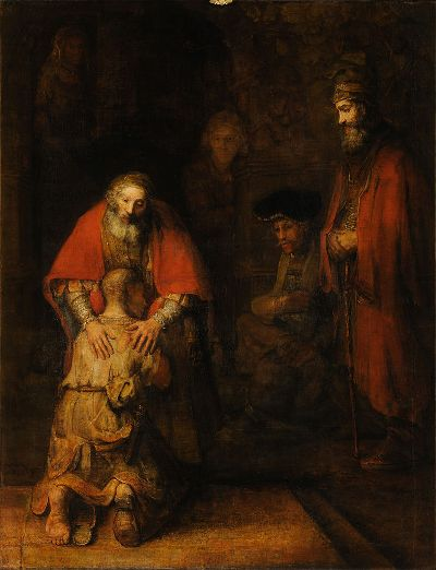 Rembrandt, The Return of the Prodigal Son, 1662–1669 (Hermitage Museum, St Petersburg)
