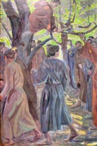 """From """"Zacchaeus"""" by Niels Larsen Stevns."""