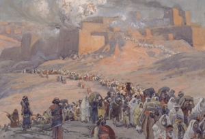 The Flight of the Prisoners, by James Tissot