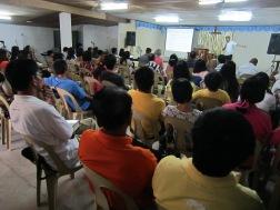 Worship Service in Betis, Pampanga