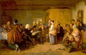 Presbyterian Catechising, painting by John Phillip