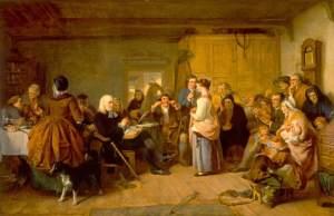 Presbyterian Catechising, painting by John Phillip