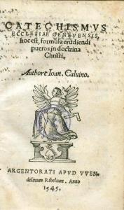 Catechism, Genevan