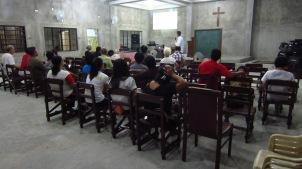 Bible Training in Sen Fernando, Pampanga