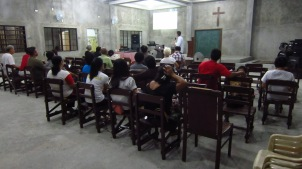 Bible Training in Sen Fernando, Pampanga