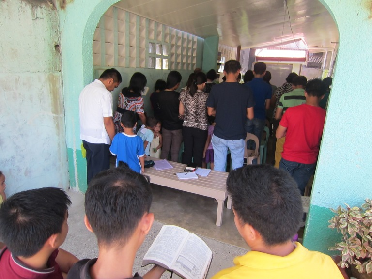 Worship Service in Iligan