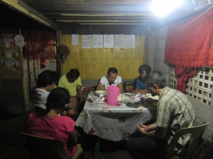 Visitation, counseling and prayer in Bugasong