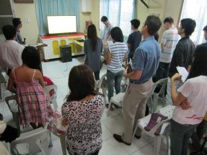 Worship Service in Malolos