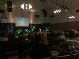 Preaching at Faith Church - Beecher campus, Illinois, U.S.A.
