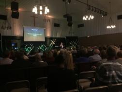 Preaching at Faith Church - Beecher campus, Illinois, U.S.A.