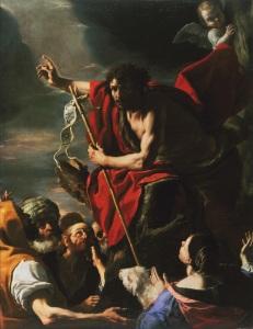 St. John the Baptist Preaching, c.1665, by Mattia Preti